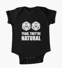 D20 Yeah They're Natural Kids Clothes
