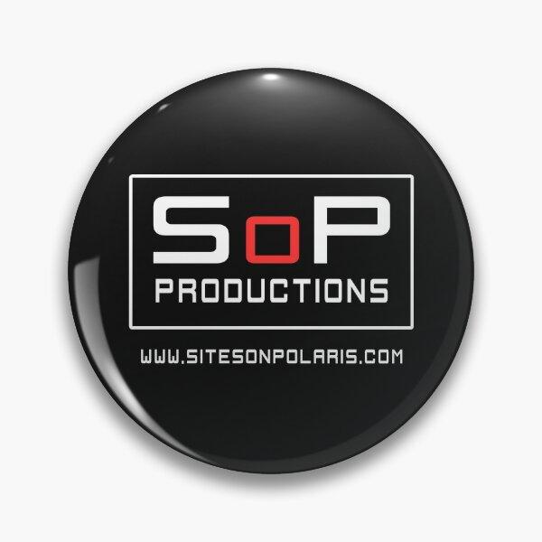 SoP logo - white Pin