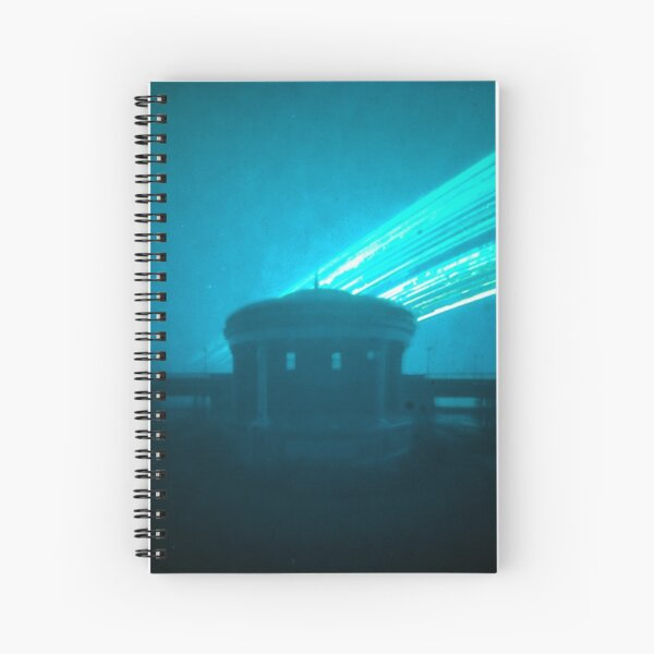 12 week exposure at Eastbourne Bandstand Spiral Notebook