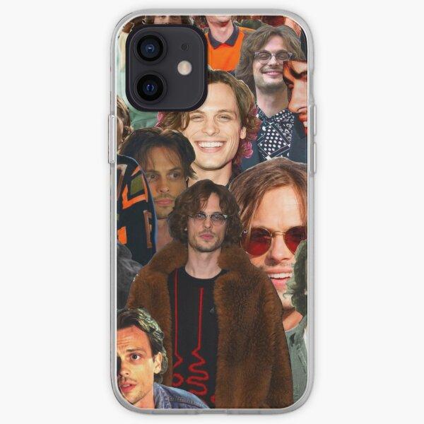 Matthew Gray Gubler Collage iPhone Soft Case