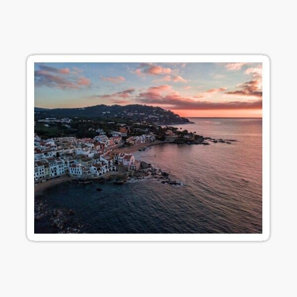 Sunrise in Calella de Palafrugell Sticker