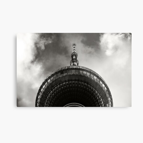 Berlin TV Tower Metal Print