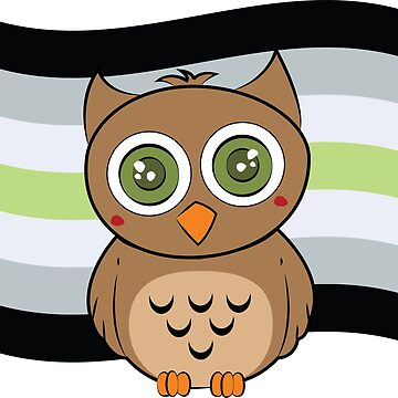 Agender Owl by badesign