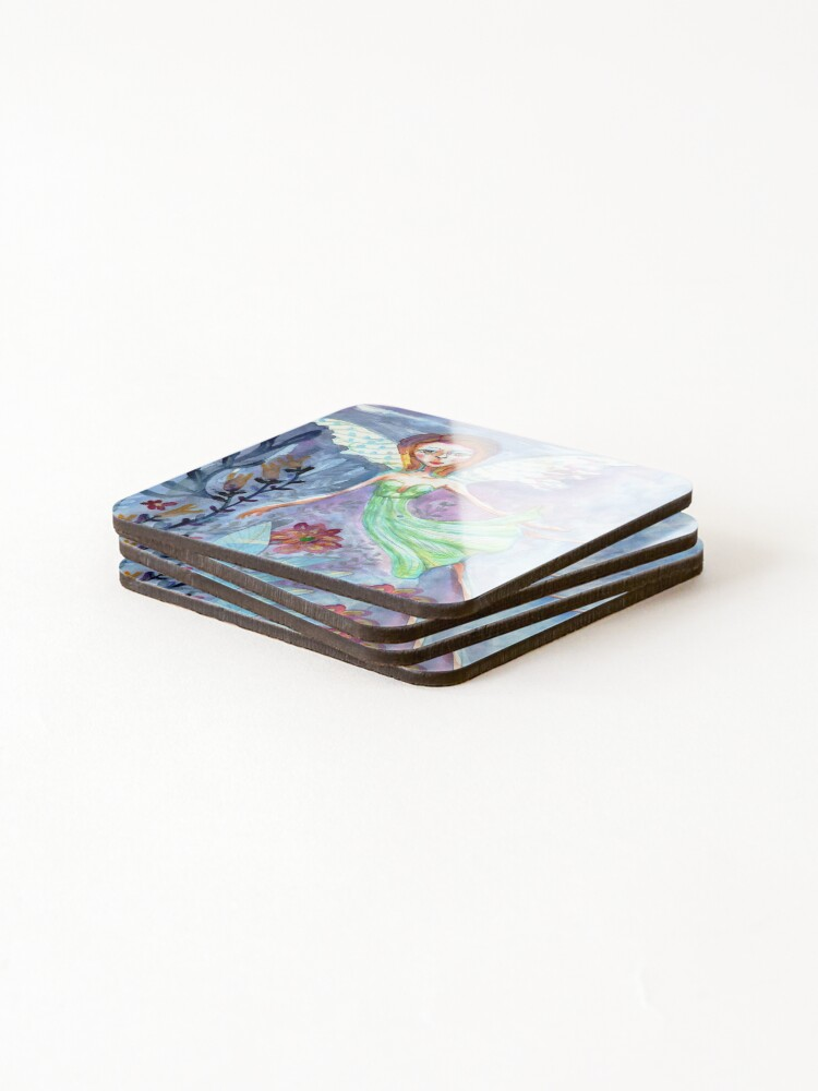 Alternate view of Fariry Coasters (Set of 4)