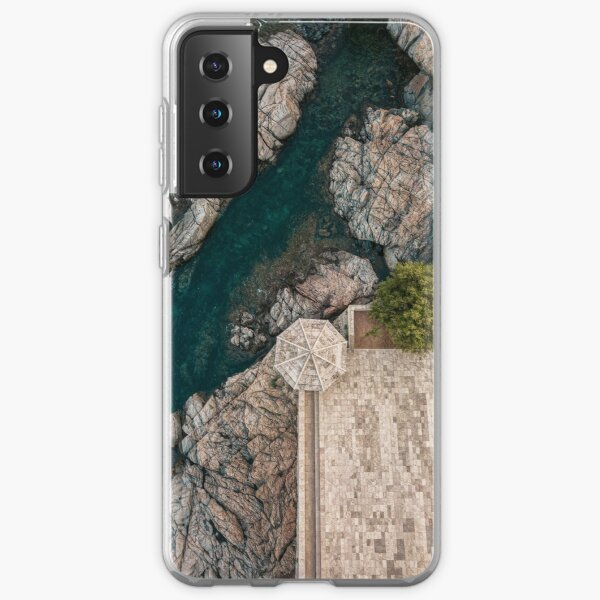 Costa Brava from the air Samsung Galaxy Soft Case
