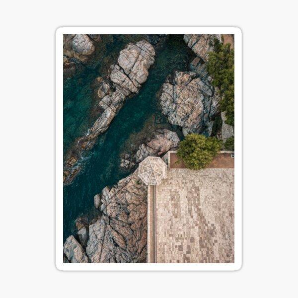Costa Brava from the air Sticker
