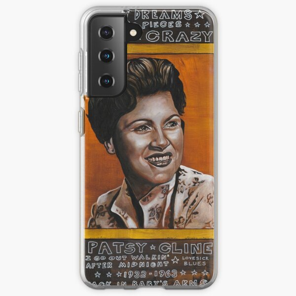 Patsy Cline Samsung Galaxy Soft Case