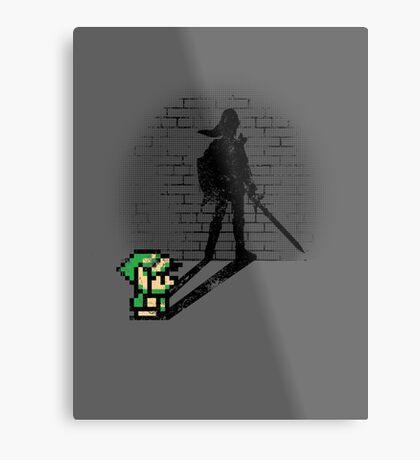 Becoming a Legend - Link Metal Print