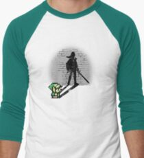 Becoming a Legend - Link Men's Baseball ¾ T-Shirt