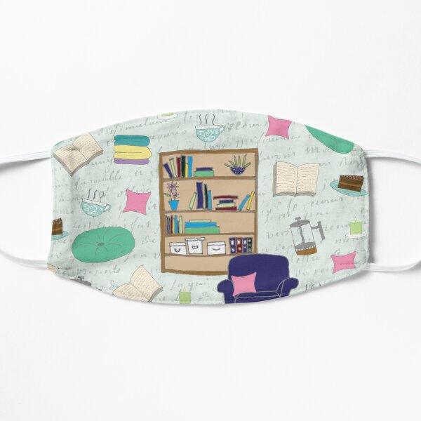 Cozy Up With A Good Book Flat Mask