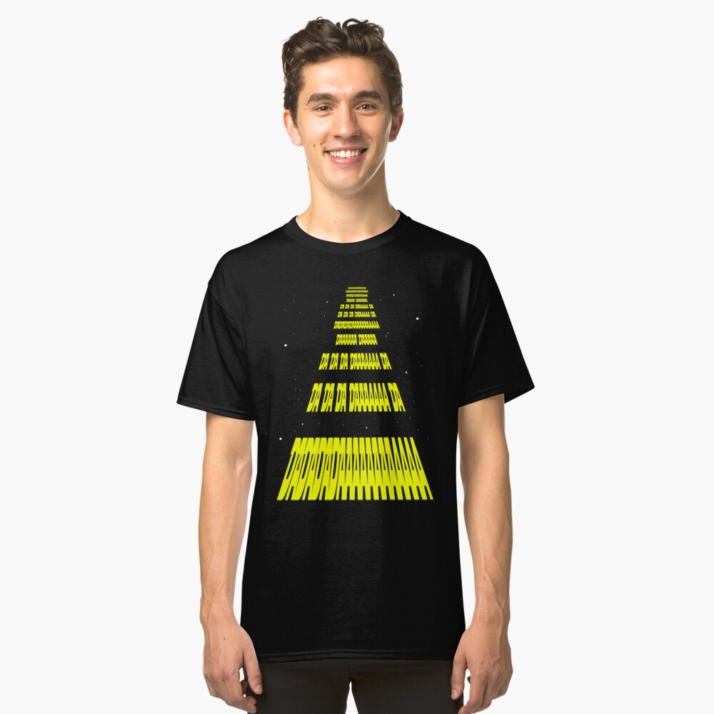 Phonetic Star Wars Classic T-Shirt Front