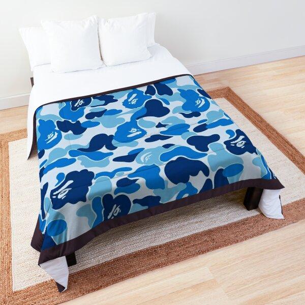 bape camo blue  ベ イ ジ ン グ ・ エ イ プ a bathing ape mask Comforter