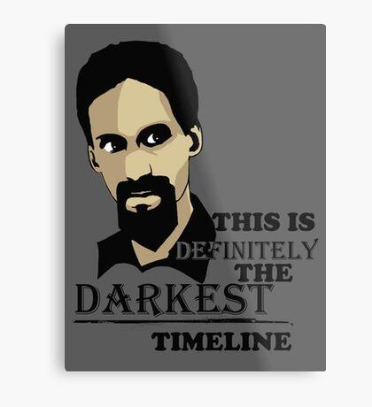 The Darkest Timeline Metal Print