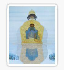 Buddhist Temples Sticker