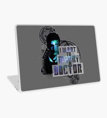 Marry a Doctor Tennant Laptop Skin