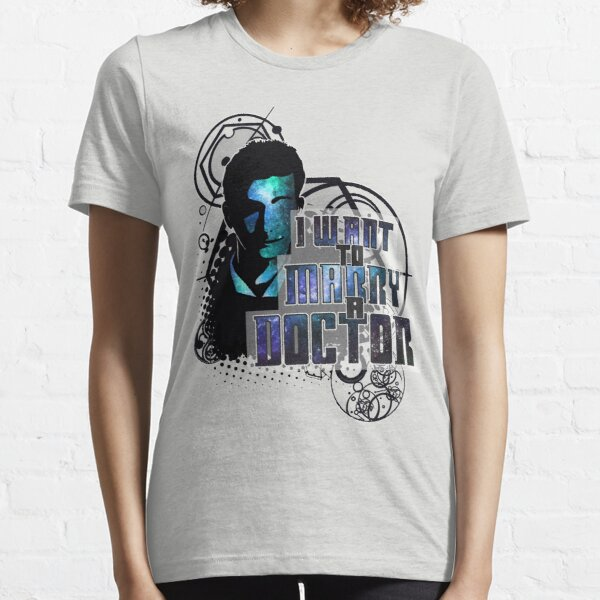 Marry a Doctor Tennant Essential T-Shirt