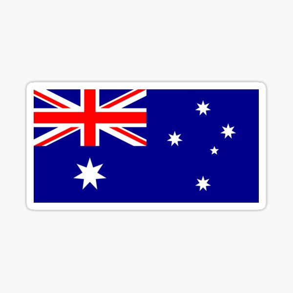 Australian World Cup Flag - Australia Team T-Shirt Oi! Sticker