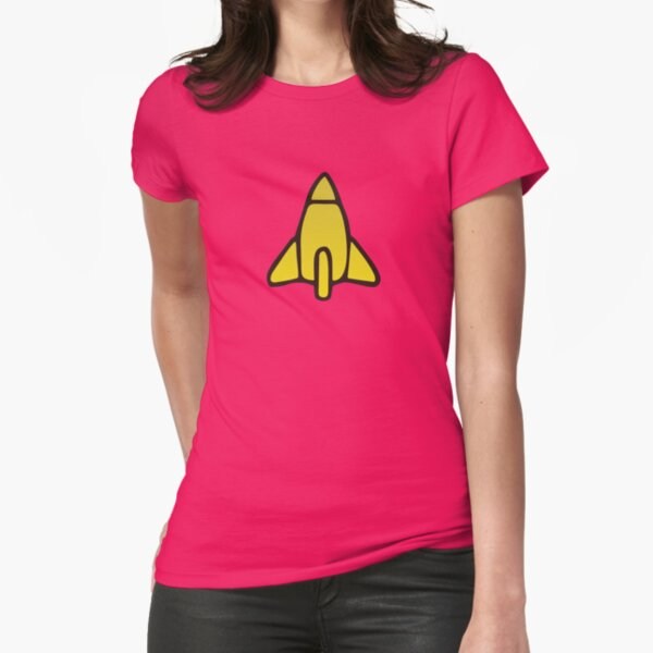 Reggie Rocket Style Fitted T-Shirt