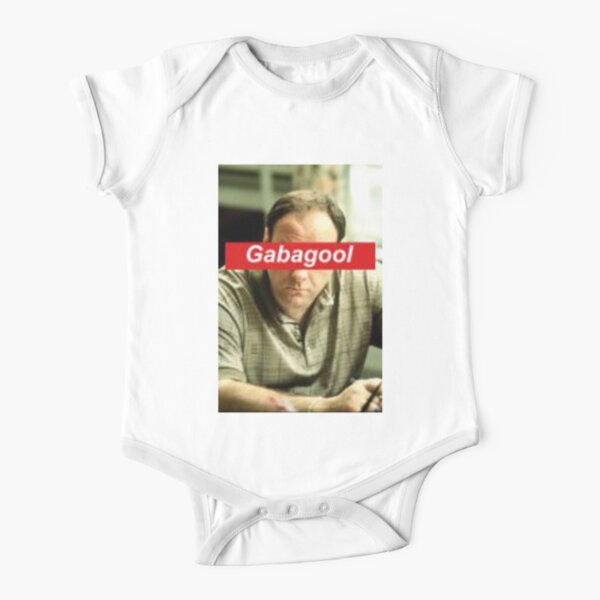 Tony Soprano - Gabagool - It's What's For Dinner  Short Sleeve Baby One-Piece