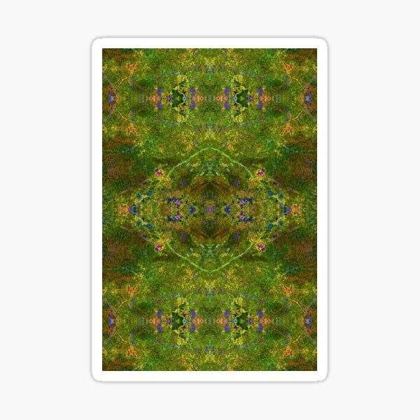 Lithoviso Steindesign: Muster aus selbstgefundenen Edelstein: Jaspis # 1 Sticker