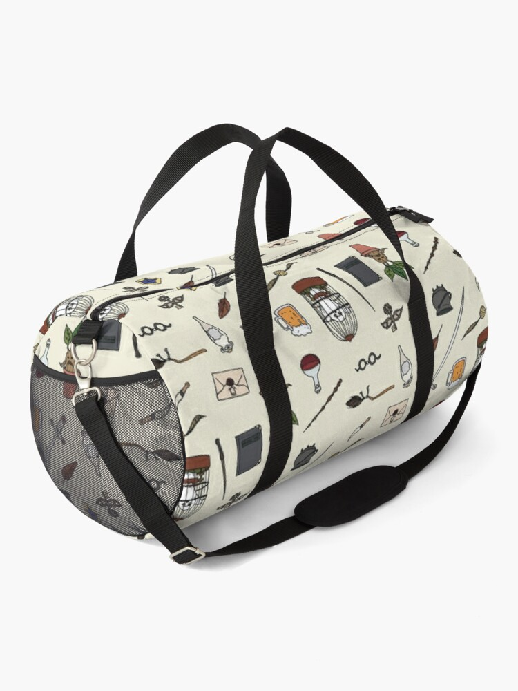 Alternate view of Owl and wand Duffle Bag