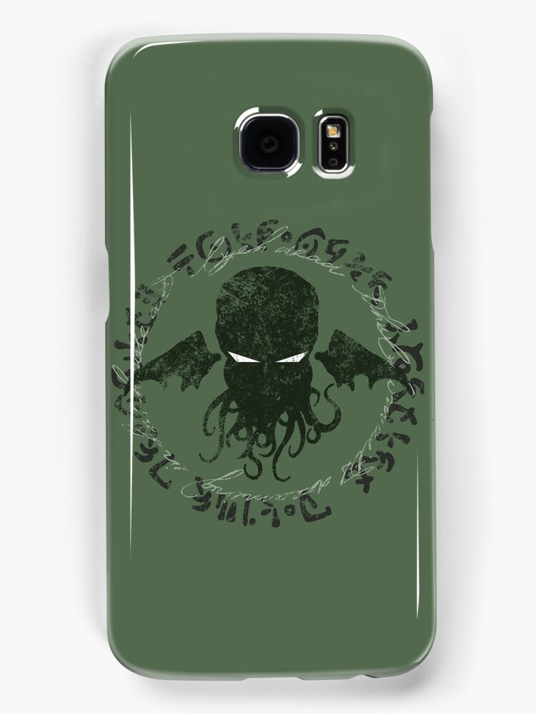 In his house at R'lyeh dead Cthulhu waits dreaming by RileyRiot