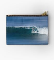 riding the wave Studio Pouch