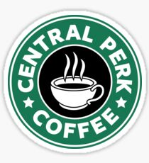 Central Perk Coffee Sticker