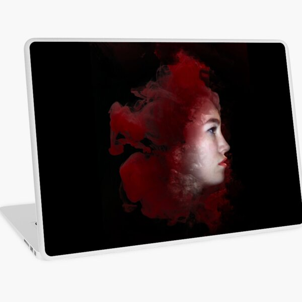 The Blood Room Cover Art 2 Laptop Skin