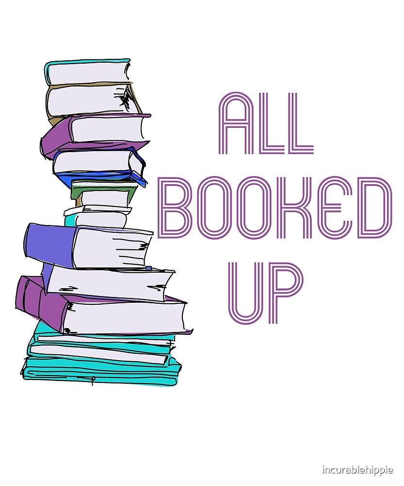 All booked up bookworm  by incurablehippie