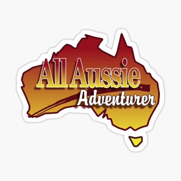 All Aussie Adventurer Sticker