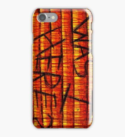 was i here? iPhone Case/Skin