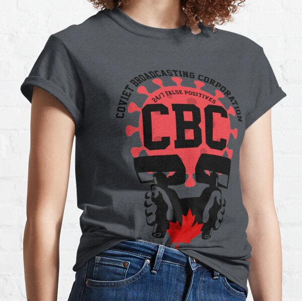 Coviet Broadcasting Corporation CBC Logo Classic T-Shirt