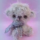 Handmade bears from Teddy Bear Orphans - Whisper by Penny Bonser