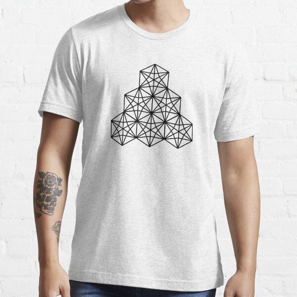 Kasane Rindo Traditional Japanese Pattern - Stack Essential T-Shirt