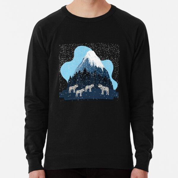 Winter Wolf Pack Lightweight Sweatshirt