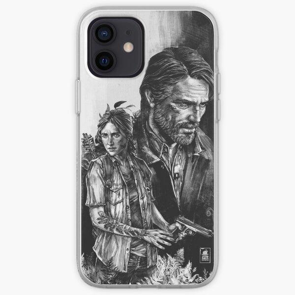 The Last Of Us Part II - Ellie et Joel Coque souple iPhone
