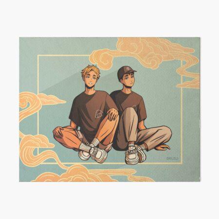 Atsumu & Osamu Art Board Print