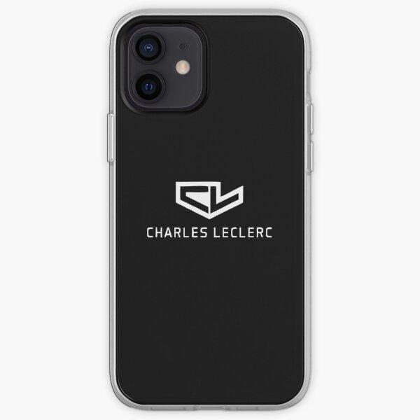 Meilleure vente - Logo Charles Leclerc Coque souple iPhone