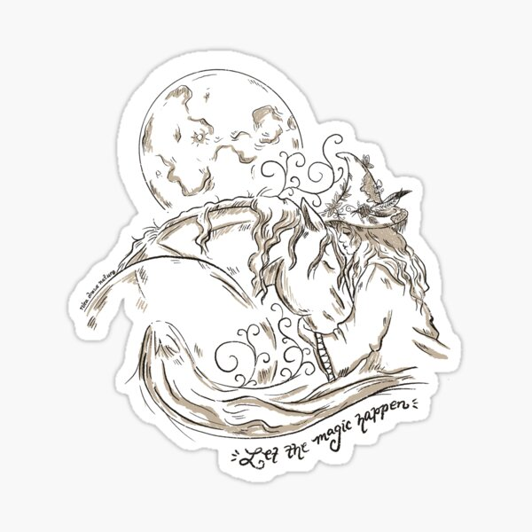 Let The Magic Happen  Sticker