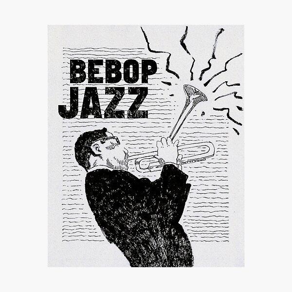 Bebop Jazz Photographic Print