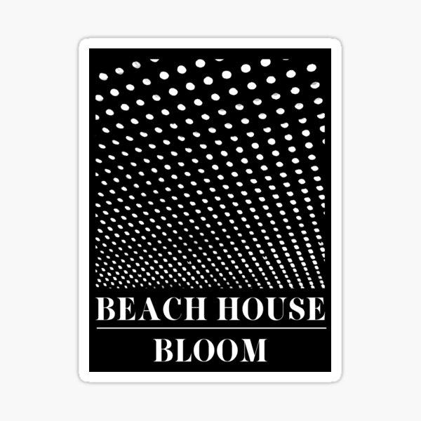 Beach House - Bloom Sticker