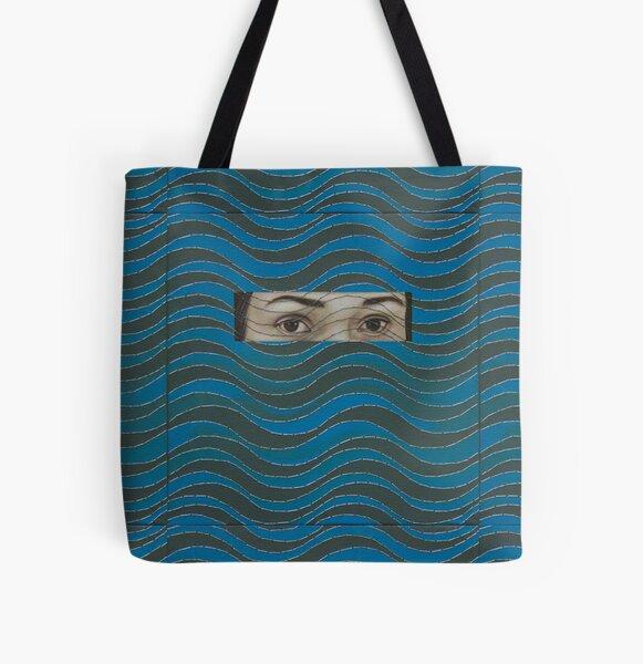 Tide, Aimée García, Cuban Art, Contemporary Cuban Art All Over Print Tote Bag
