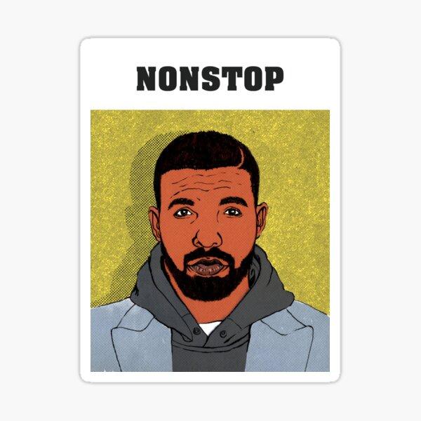Drake portrait Sticker