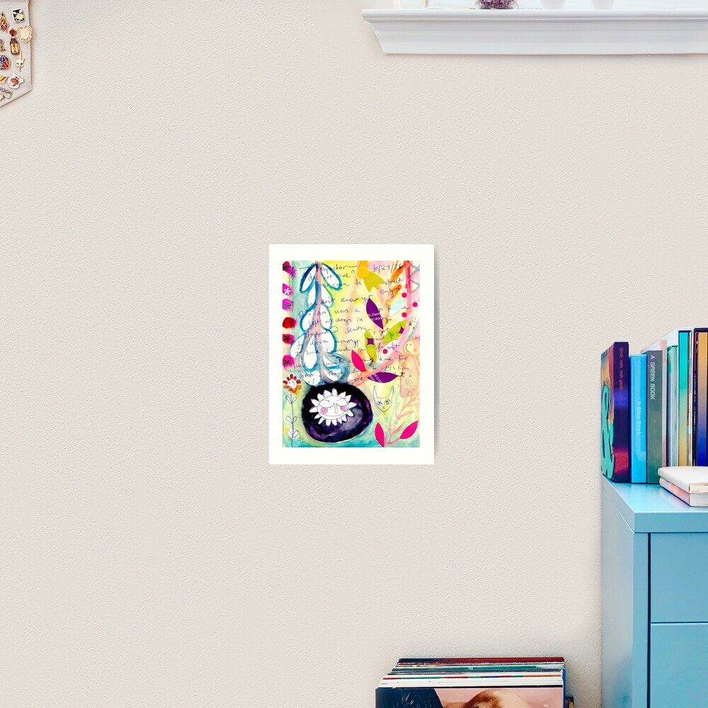 Color Venting Art Print