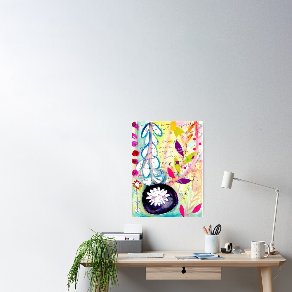 Color Venting Poster