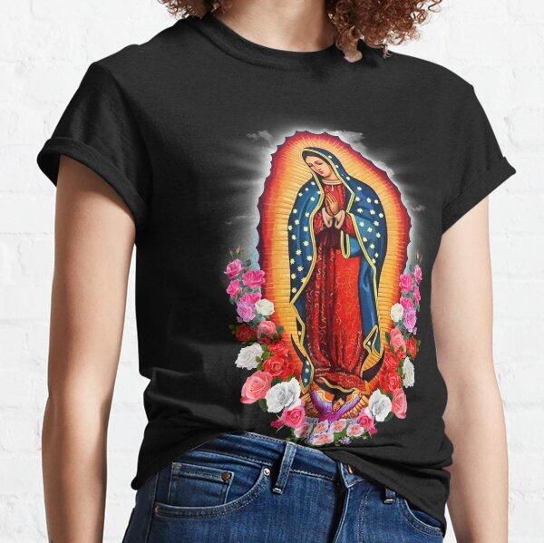 Nuestra Señora de Guadalupe Virgen María Camiseta clásica