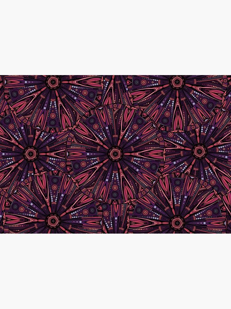 Underwater Urchin Mandala by akayeart