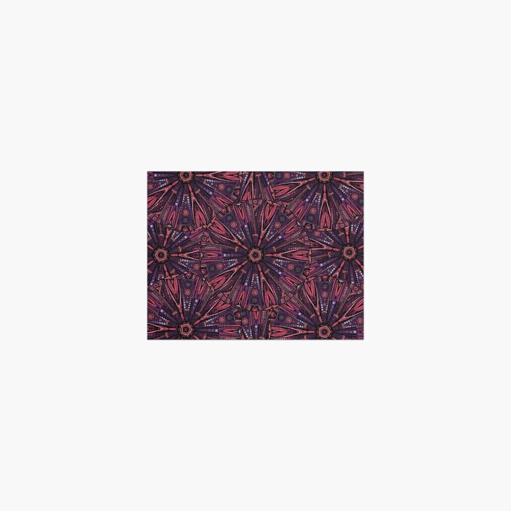 Underwater Urchin Mandala Jigsaw Puzzle