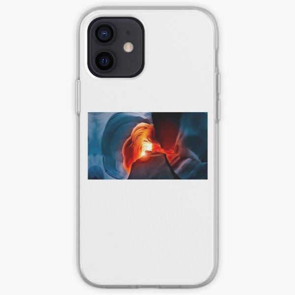 Rainbow dark mode iPhone Case